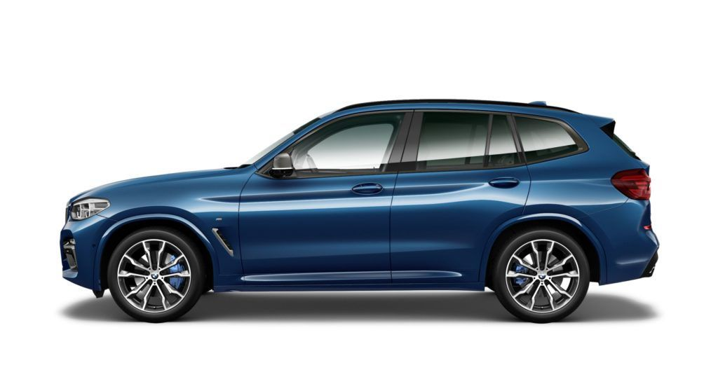 I've ordered a BMW X3 M40i