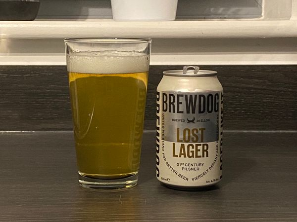 Beer Advent 2020: BrewDog Lost Lager
