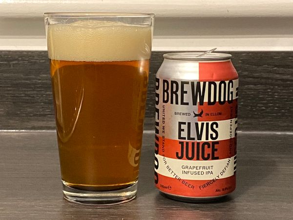 Beer Advent 2020: BrewDog Elvis Juice